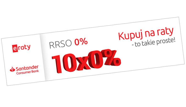 Raty Santander 10x0%