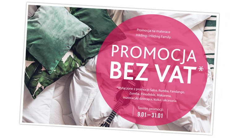 Promocja HILDING bez VAT