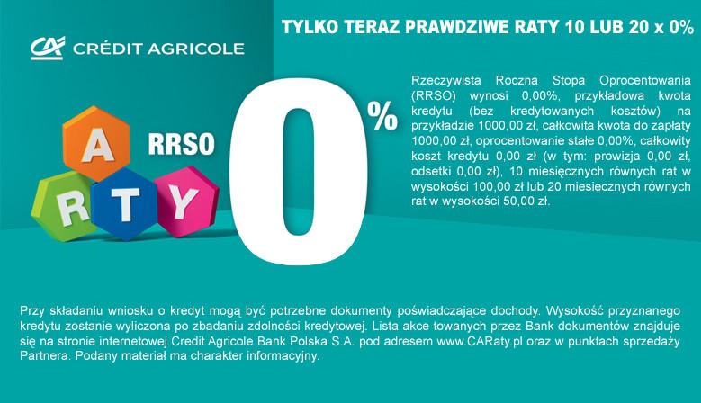 RATY 10 LUB 20 x 0%